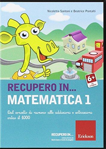 Recupero in... matematica. CD-ROM: 1