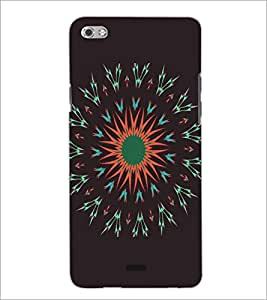 PRINTSWAG RANGOLI Designer Back Cover Case for MICROMAX CANVAS SLIVER 5 Q450
