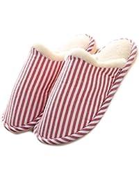 DELEY Unisex de Dibujos Animados Traje de Pies Grandes de Dedo Suave de La Felpa de La Zapatillas de La Casa de Un Adulto Zapatos Rosa Caliente 4rIwOqvmJ0