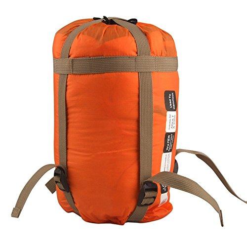 Hängematte Quilts, dometool Winter Fallschirm Hängematte Liner Outdoor-Reise Swing Schlafplatz Quilt, Orange