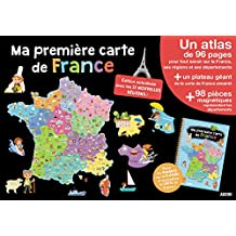 Mes premiers coffrets d'apprentissage - Ma première carte de France