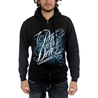 Parkway Drive - Uomo Deep Blue Zip-Up Hoodie Black