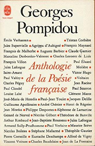 Anthologie de la poésie française / Georges Pompidou  