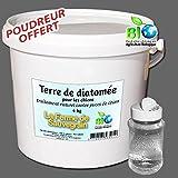 Terre de diatomée alimentaire pour chats et chiens - anti puce naturel - 4 kg +p