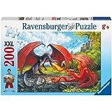 Ravensburger 12708 - Kampf der Drachen Puzzle, XXL, 200 Teile