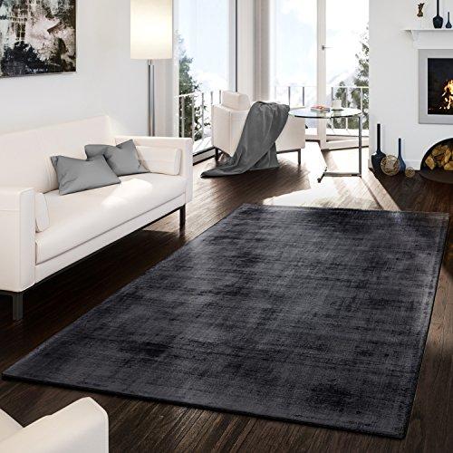 teppich-handgetuftet-modern-edel-viskose-garn-schimmer-glanz-anthrazit-grosse10x10-cm