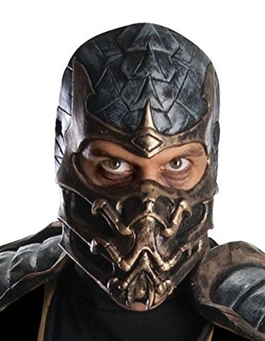 Ruby Mortal Kombat Latex Mask Scorpion
