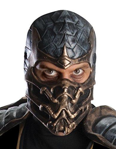 Deluxe Scorpion Maske - Rubie's Mortal Kombat Scorpion Maske