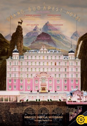 THE GRAND BUDAPEST HOTEL – Hungarian Imported Movie Wall Poster Print – 30CM X 43CM Brand New