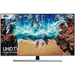 Samsung UE55NU8000 55-Inch Dynamic Crystal Colour 4K Ultra HD Certified HDR 1000 smart TV - Negre / Plata (2018 Model) [Classe energètica A]