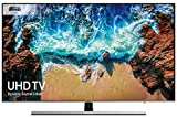 Samsung UE55NU8000 55-Inch Dynamic Crystal Colour 4K Ultra HD Certified HDR 1000 Smart TV - Black/Silver (2018 Model) [Energy Class A]