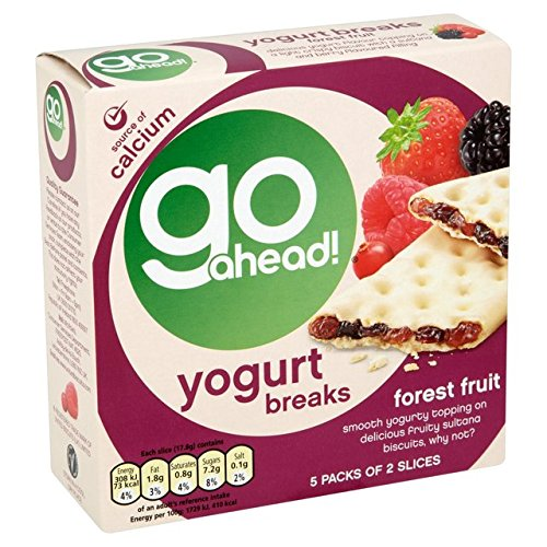Go Ahead Yoghurt Breaks Forest Fruit 5 per pack