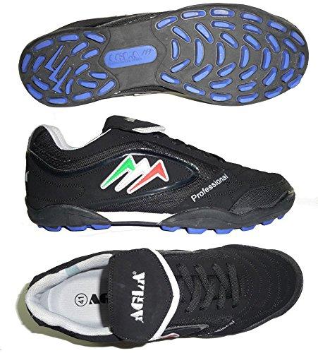 AGLA , Chaussures pour homme spécial foot en salle Black/black