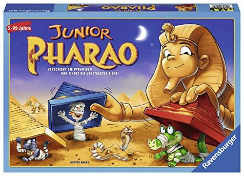 Ravensburger Kinderspiele 21435 Ravensburger 21435-Junior Pharao-Lustige Kinderspiele