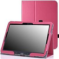 "MoKo 2042881 10.1"" Folio Rosa funda para tablet - Fundas para tablets (Folio, Samsung, 25,6 cm (10.1""), Rosa)"
