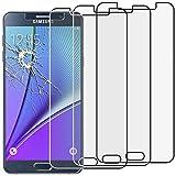 ebestStar - pour Samsung Galaxy Note5 SM-N920F Note 5 - Lot x3 Film protection écran en VERRE Trempé - Vitre protecteur anti casse, anti-rayure [Dimensions PRECISES de votre appareil : 153.2 x 76.1 x 7.6 mm, écran 5.7''] [Note Importante Lire Description]