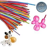 Shanke DIY Magia Globos de Fiesta 200pcs de Colores Diversos,Mágico Globos de Látex,