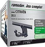 Rameder Attelage rotule démontable pour CITROËN DS3 + Faisceau 13 Broches...