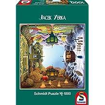 Schmidt - Jacek Yerka Puzzle Il Giardino Delle Quattro Stagioni, 1000 Pezzi