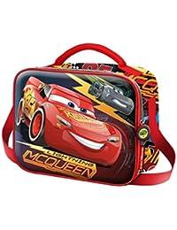 Karactermania Cars 3 Race Mochila Infantil, 24 cm, Rojo