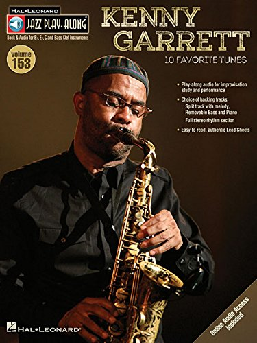 Kenny Garrett - Jazz Play-Along Volume 153 (CD/Pkg)