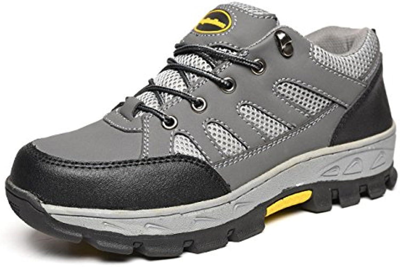 ZXCB Herren Wanderschuhe Low Rise Wanderschuhe Leichte Outdoor Gym Schuhe Breathable Laufschuhe Trekking Wanderschuhe