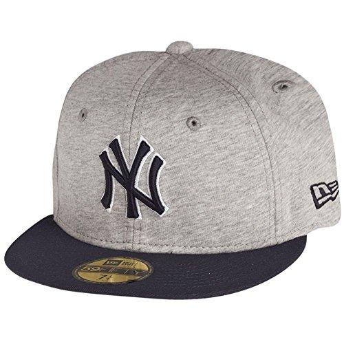 New Era 59Fifty Cap - JERSEY NY Yankees grau / navy - 7 1/8