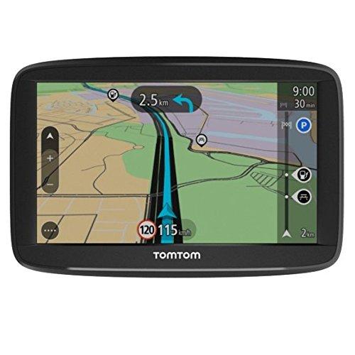 TomTom Start 52 Portátil/Fijo 5' LCD Pantalla táctil 209g Negro navegador - Navegador GPS (Multi, Interno, Toda Europa, 12,7 cm (5'), 480 x 272 Pixeles, LCD)