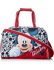 Artesanía Cerdá Mickey Bolsa de Deporte Infantil, Color Rojo