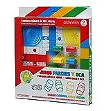 Tachan Juego Parchís y Oca, de Madera, 40 cm Color Rojo y Blanco CPA Toy Group 74020099
