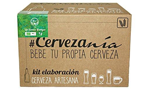 #Cervezanía - Kit de elaboración de cerveza Pilsen Ale Ecológica