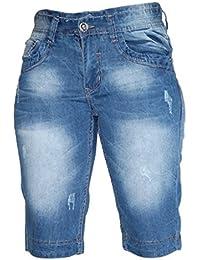 Waooh - Bermuda En Jeans Ourlet Etoiles Raoul