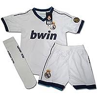 DRAPS CENTER S.L. Equipación Infantil Réplica Oficial del Real Madrid Ronaldo Nº 7 Temporada 12/13 (Talla 2)