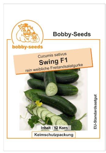 Bobby-Seeds Gurkensamen Swing F1, Freilandgurke Portion