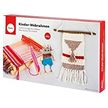 Rayher Weaving Loom, Wood, Assorted, 16.5 cm