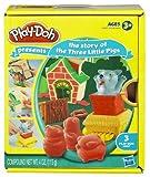 Hasbro Playdoh Cuentos Los tres cerditos - Set de plastelina con moldes de personajes de cuentos infantiles