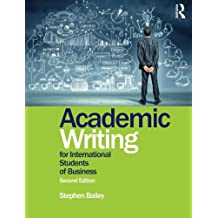 Academic Writing for International Students of Business-