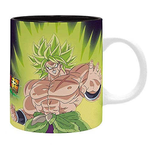 Dragonball Super - Premium Keramik Tasse - Son Goku and Vegeta Saiyajin Vs. Broly - - Son Goku Kostüm Super Saiyajin