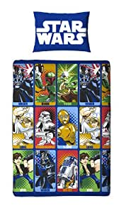 Character World Star Wars Cartoon Single Rotary Duvet Set