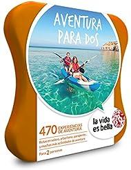 LA VIDA ES BELLA - Caja Regalo - AVENTURA PARA DOS - 470 experiencias de aventura