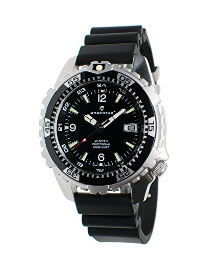 Momentum Men's Analog-Quartz Watch with Rubber Strap 1M-DV06B9B