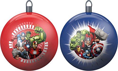 Star Licensing 44095Set Weihnachtskugeln Avengers, mehrfarbig, 8x 8x 8cm, 2Stück