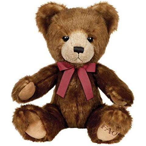 FAO Schwarz 16 inch Medium Two Tone Bear - Light Brown and Dark Brown by Russ Berrie and Co.
