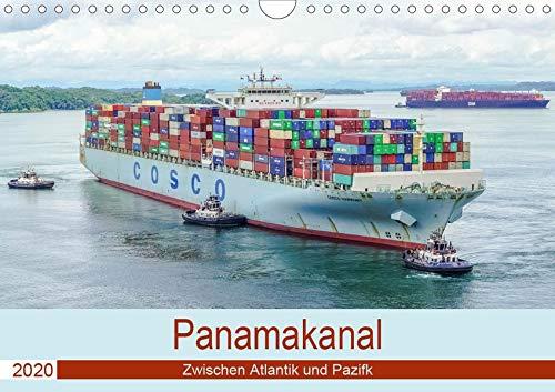 Panamakanal - Zwischen Atlantik und Pazifik (Wandkalender 2020 DIN A4 quer): Panamas Wasserstrasse (Monatskalender, 14 Seiten ) (CALVENDO Orte) - Gatun Locks