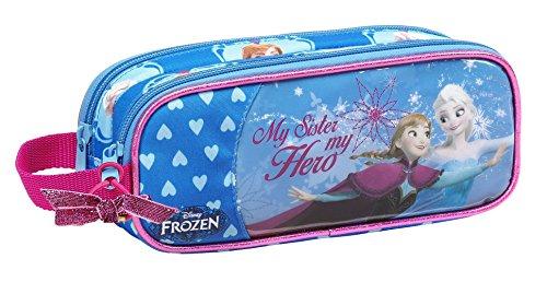 Frozen - Portatodo doble, 21 x 8 x 6 cm (Safta 811535513)