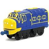 Chuggington Die Cast LC54003 - Bastian, rica en detalles, la locomotora fundido de colores y resistente