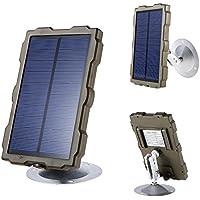 winnes - Fuente de alimentación Impermeable para cámaras de Seguridad IP inalámbricas, Incluye Soporte para