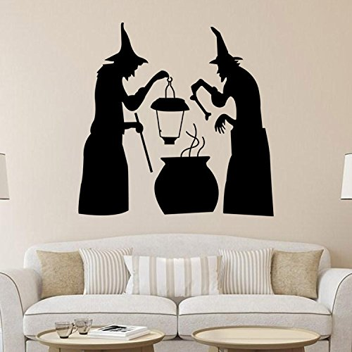 Verpackung Kostüm Mumie Material - MSSJ Halloween-Wandaufkleber, Teufel-Wohnzimmer-Schlafzimmer-Hintergrund, dekorative Aufkleber, geschnitzt