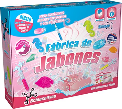 Science4you Fabrica de jabones - Juguete científico y educativo