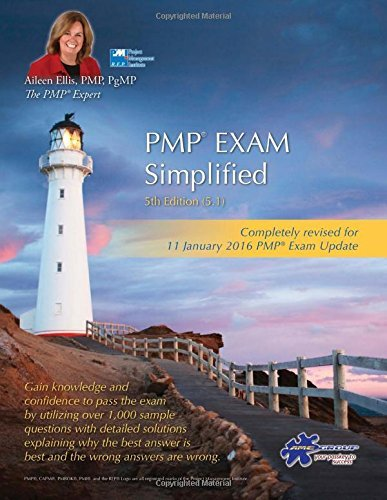 Portada del libro PMP? Exam Simplified: Updated for 2016 Exam by Aileen Ellis PMP (January 04,2016)